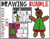 GINGERBREAD GIRL Drawing Bundle