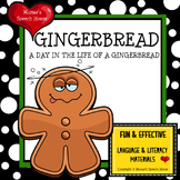 GINGERBREAD MAN  Early Reader AAC PECS Speech Therapy Early Reader