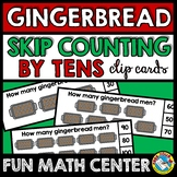 GINGERBREAD MAN ACTIVITY KINDERGARTEN (CHRISTMAS SKIP COUN