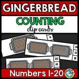 GINGERBREAD MAN ACTIVITY KINDERGARTEN (COUNTING TO 20) DEC