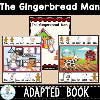 GINGERBREAD MAN-ADAPTED BOO... by Creative Curriculum Adaptations ...