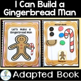 MAKE A GINGERBREAD MAN-ADAPTED BOOK