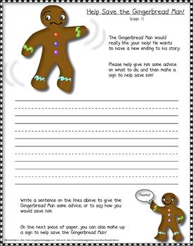 THE GINGERBREAD MAN! (PreK-2 ELA & math unit)