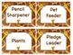 GIRAFFE Job Chart Cards/Signs - Great for Classroom Management! ADORABLE!