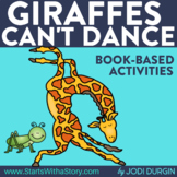 GIRAFFES CAN'T DANCE Activities and Read Aloud Lessons for Distance Learning
