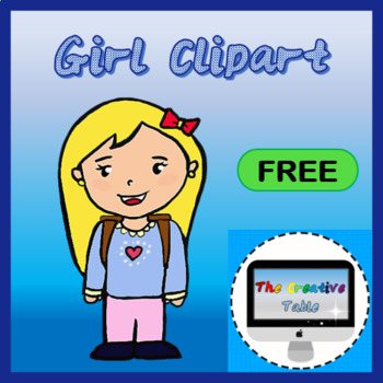 GIRL CLIP ART- FREE TO USE