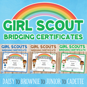 graphic regarding Girl Scout Certificates Printable Free referred to as Daisy Bridge Towards Brownie Lady Scouts Certification Daisy