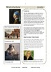 GIRL WITH A PEARL EARRING LITERATURE WORKSHEETS USING BLOOM'S TAXONOMY