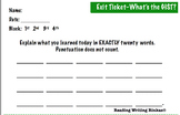 GIST Exit ticket