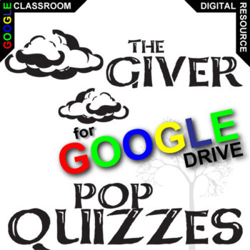 THE GIVER 4 Pop Quizzes (Created for Digital)