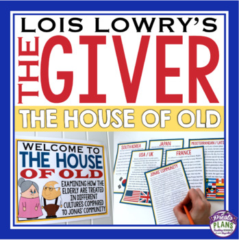 GIVER ACTIVITY: HOUSE OF OLD