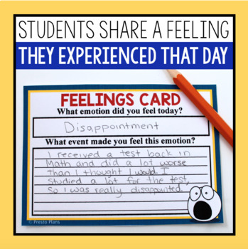 GIVER ACTIVITY: TELLING OF FEELINGS CEREMONY