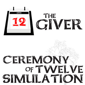 THE GIVER Ceremony of 12 Activity