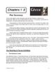 THE GIVER - Chapter Summaries, Pre-Reading Activities, Vocabulary, & Questions