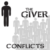 THE GIVER Conflict Graphic Analyzer - 6 Types
