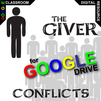THE GIVER Conflict Graphic Organizer (Created for Digital)