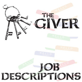 THE GIVER Jobs List Organizer