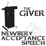 THE GIVER Newbery Award Speech & Response