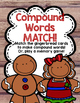 GIngerbread {Compound Words} Match!