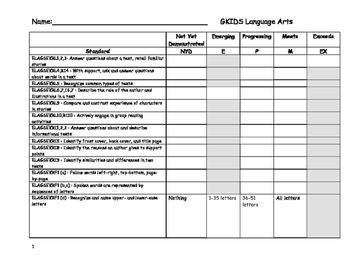 GKIDS - Language Arts
