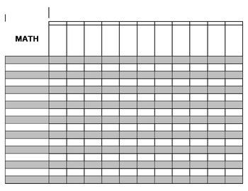 GKIDS Score Recording Sheet