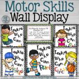 Motor Skills Wall Display