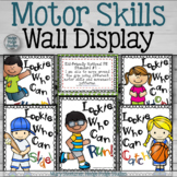 Motor Skills Wall Display