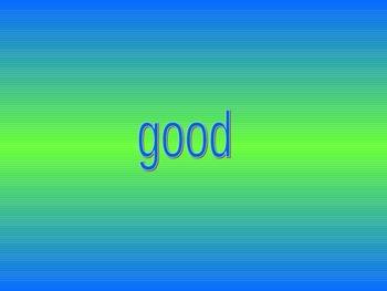 GKids Sight Words PowerPoint