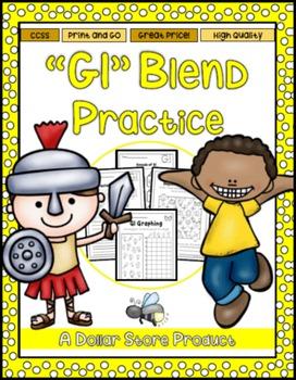 GL Blend Practice Printables