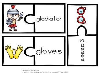 GL Blend Puzzles ~ 14 Puzzles Plus Follow Up Activities