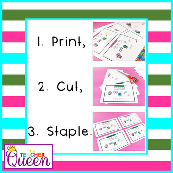 GL- Blend Readers Levels A and C (Printable and Projectable Books)