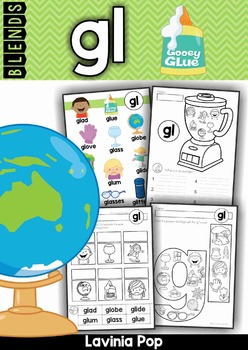 Blends Worksheets and Activities - GL