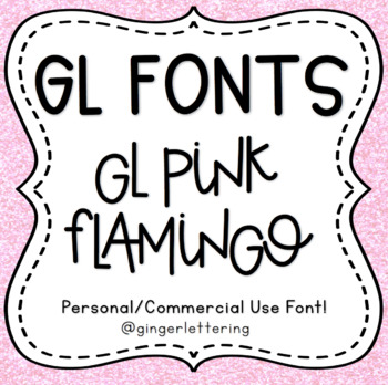GL Fonts: Pink Flamingo