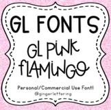 GL Fonts: Pink Flamingo