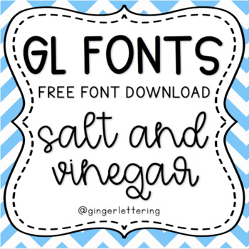 GL Fonts: Salt and Vinegar Chips