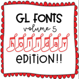 GL Fonts: Volume 5, Holiday Edition