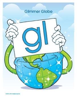 GL (Glimmer Globe) Blend Buddy Poster