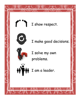 GLAD Classroom Rules for Early Childhood Classroom