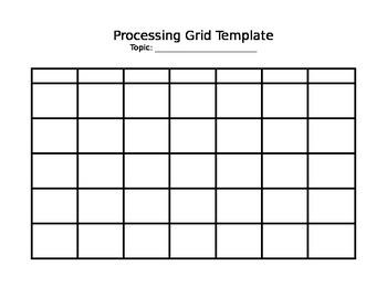GLAD Processing Grid