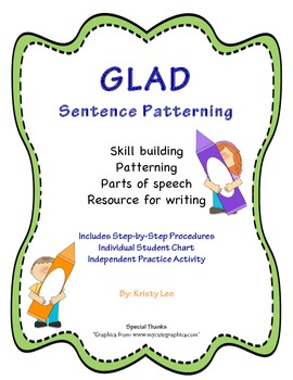 GLAD Sentence Patterning Packet