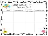 GLAD adapted Solar System Process Grid