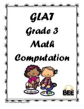 GLAT Grade 3 Math Computation