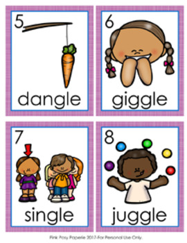 GLE Final Stable Syllable Words Write the Room