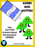 GLITTER AND GERMS - An Activity and Follow-up Worksheets