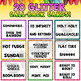 GLITTER Attention Getters | Student Call Backs for Positive Classroom Management