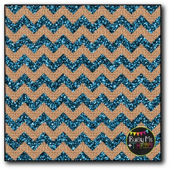 GLITTER Bright Chevron Burlap Digital Papers {Commercial Use Digital Graphics}