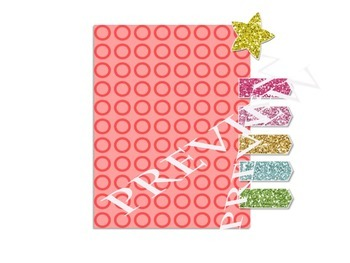 GLITTER CLIPART- COMMERCIAL USE