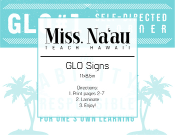 GLO Signs Hawaii