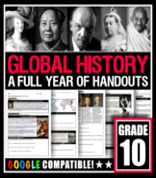 GLOBAL HISTORY 10: Full Curriculum