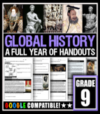 GLOBAL HISTORY 9: Full Curriculum
